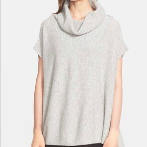 Cowl neck short sleeve Vince tunic sweater